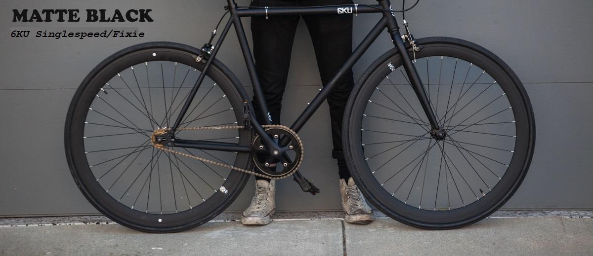 6KU Singlespeed/ fixed gear Bikes Citybikes und Rennräder – Bicycle ...