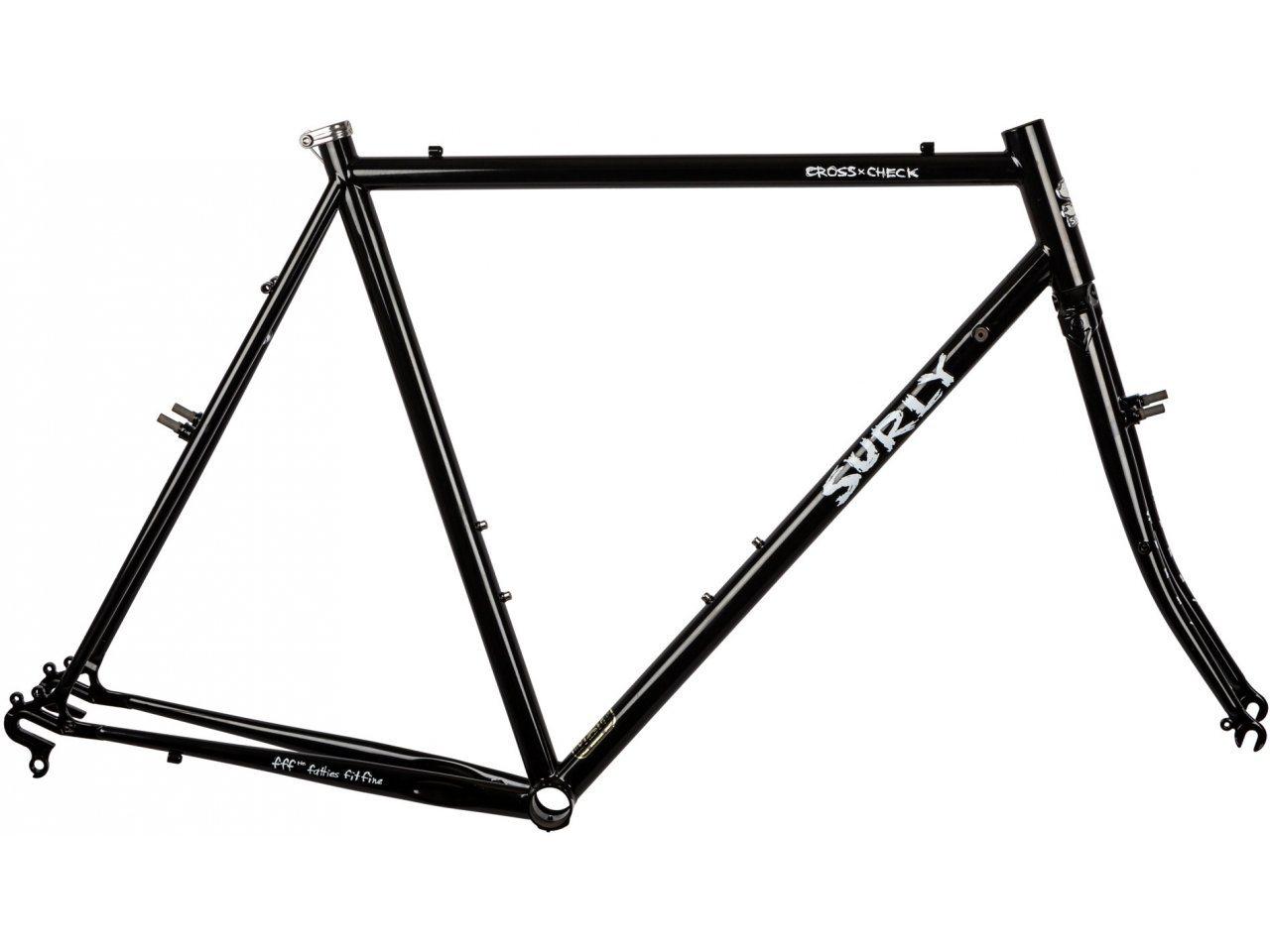 Surly-Cross-Check-28-Rahmenkit-gloss-black bild 1