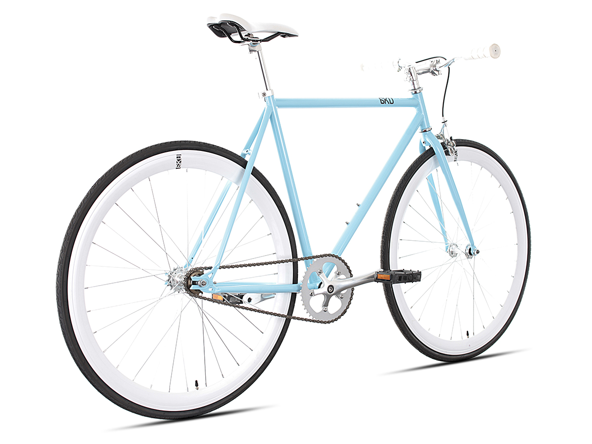 6 KU Singlespeed & Fixie Detroit Silber metallic Bicycle